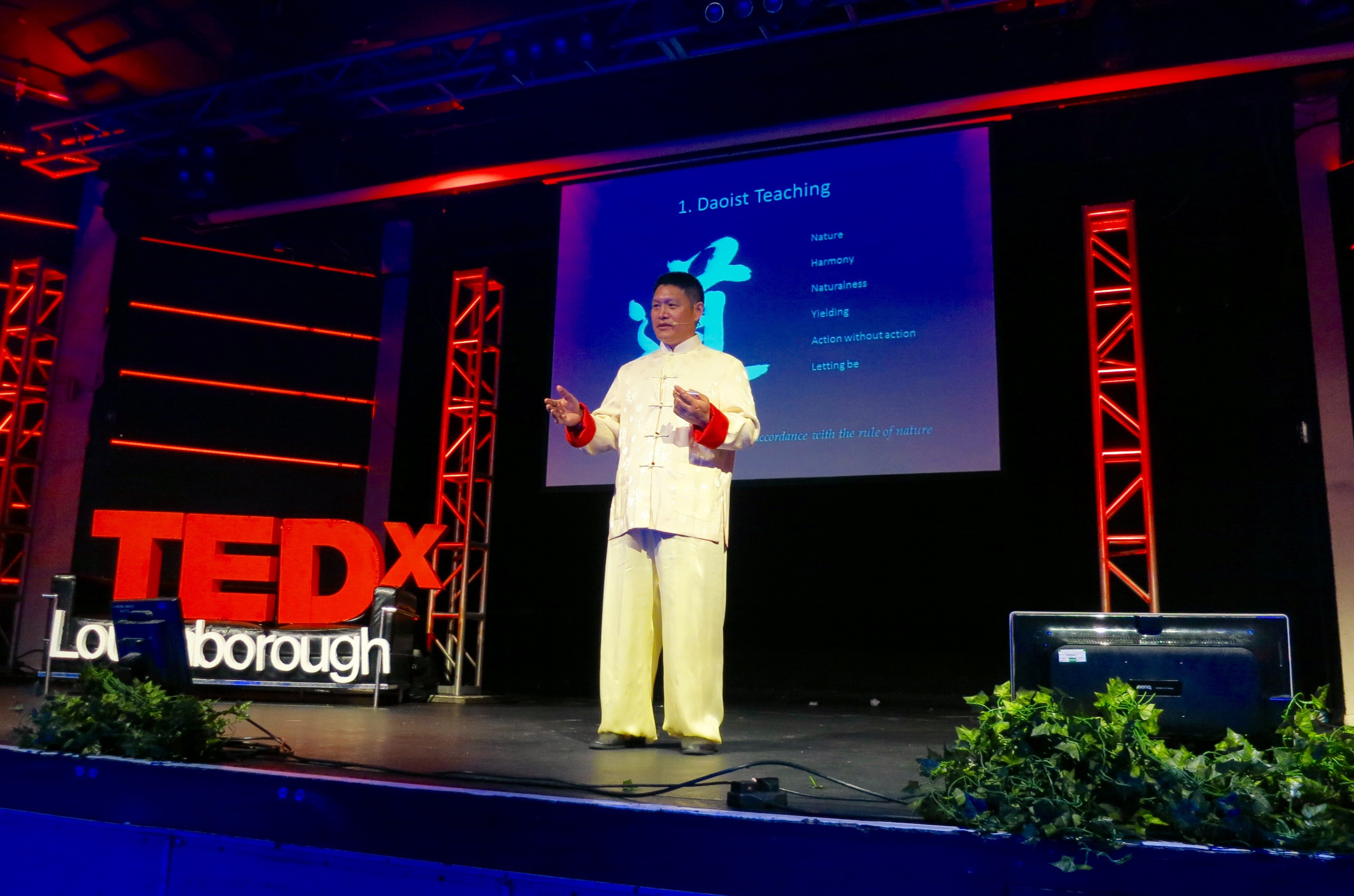 In 2013 Shifu Liu was invited to give a TEDx talk about his life, the importance of tai ji, qi gong and Chinese philosophy