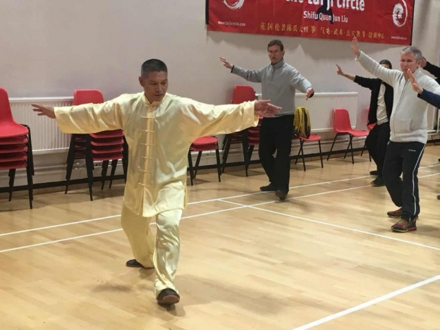 Shifu Liu teaches Chen Tai Ji Routine