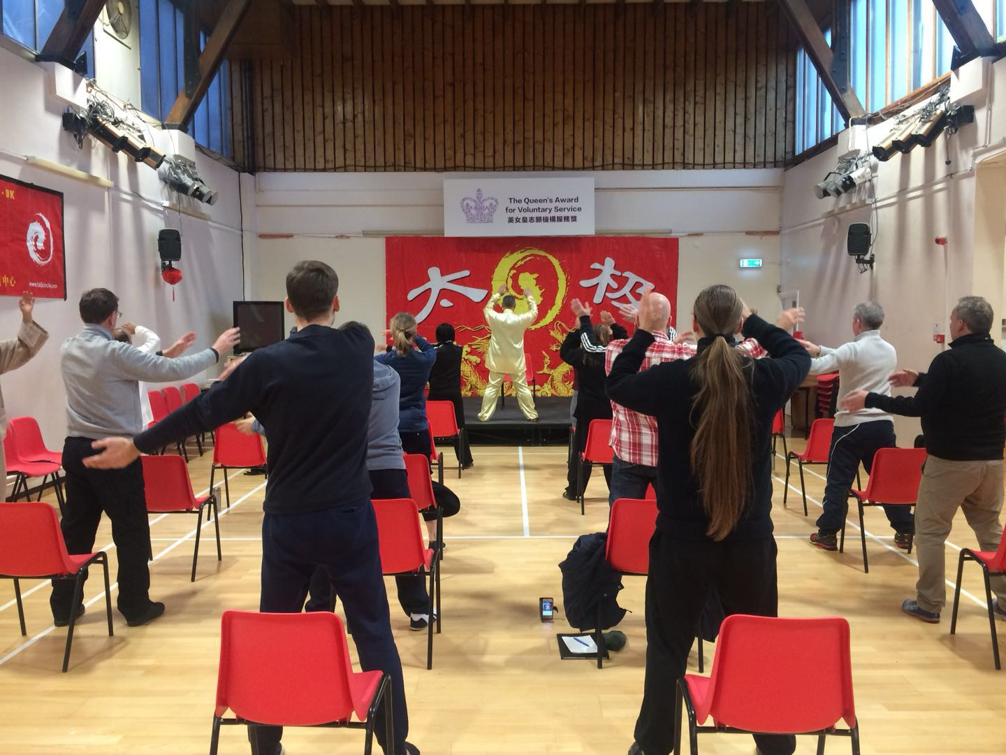 Healing Sounds Qi Gong class with Shifu Liu