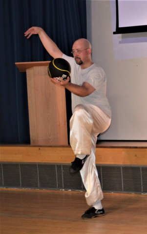 Chen Tai Ji Ball demonstration